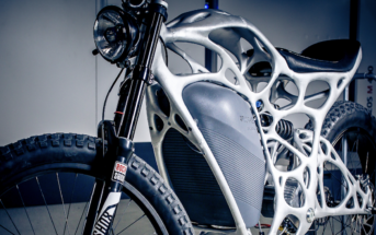 the Light Rider – is claimed to be the world's first 3D-printed motorcycle, created using APWorks' Scalmalloy ALM material