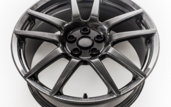 Ford Performance is introducing carbon fiber wheels as an option for the Ford GT supercar