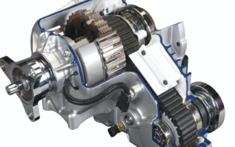 BorgWarner Torque-On-Demand transfer case with new vehicle dynamic control (VDC) technology for the 2017 and 2018 Dodge Challenger GT
