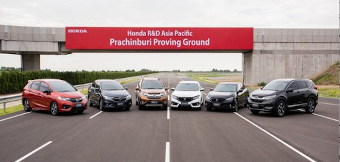 Honda R&D Asia Pacific (HRAP) has completed construction of its new US$51 million, 800,000 square meter Asia Pacific Prachinburi Proving Ground in Thailand