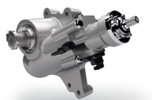 WABCO OnLaneASSIST with lane correction functionality based on a hydraulic steering gear by R.H. Sheppard and Nexteer Automotive magnetic torque overlay