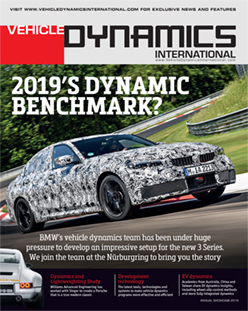 In this Issue - Annual Showcase 2019 | Vehicle Dynamics