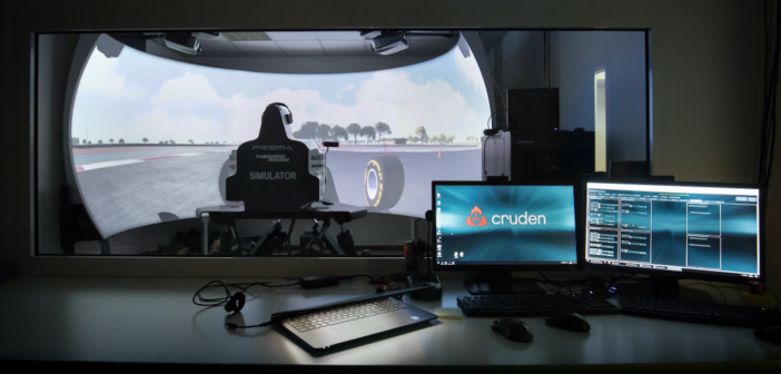 Prema Racing's existing driving simulator has been upgraded with the Cruden open-architecture Panthera simulator software suite