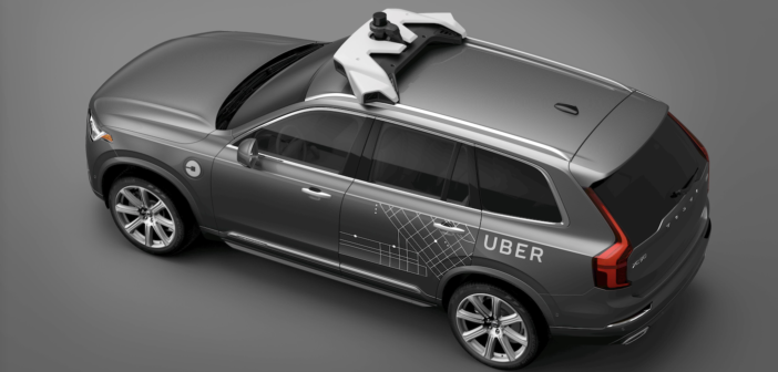 volvo's autonomous car for uber