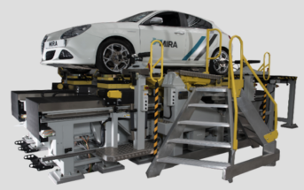 AB Dynamics, has upgraded its SPMM 5000 Kinematics and Compliance (K&C) testing machines