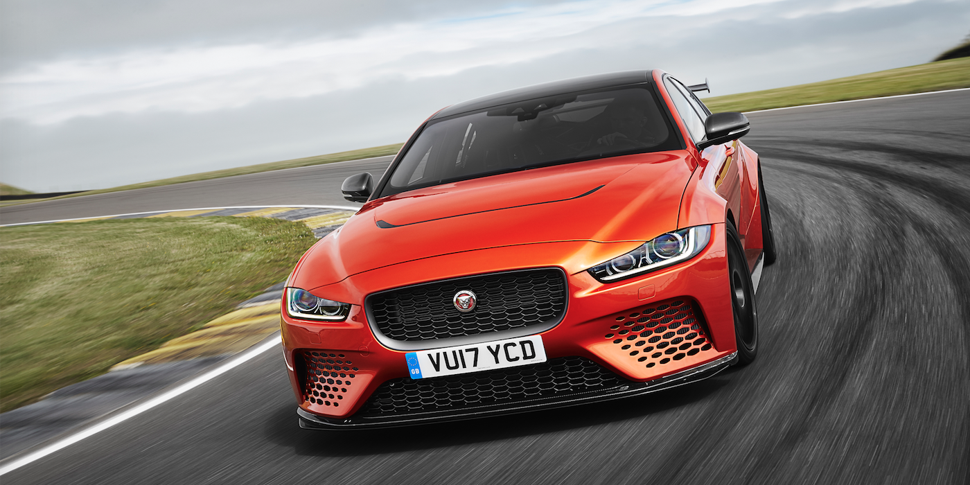 Jaguar XE SV Project 8 at Goodwood