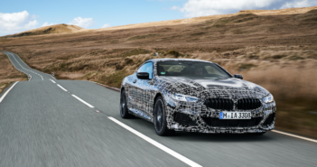 The 2018 BMW 8 Series coupe
