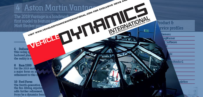 In this Issue - May/June 2018   Vehicle Dynamics International