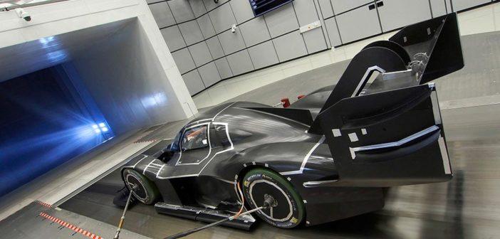 VW releases aerodynamic details of ID R Pikes Peak racer