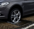 Ford's CCD (Continuously Controlled Damping) technology on the Focus, which monitors suspension, body, steering and braking inputs every 2ms, and adjusts damping responses accordingly. The system can also detect the edge of potholes and adjust the damper to minimize wheel drop, thus minimizing the impact with the opposite side of the pothole. With the front wheels giving the rears a little more advance warning, the rear suspension can soften the blow further.