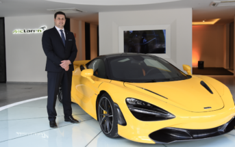 Andreas Bareis has been appointed as Vehicle Line Director of McLaren Automotive's Super Series product family