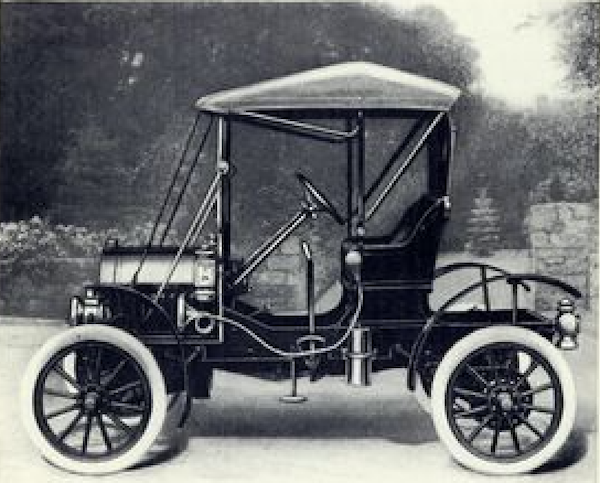 In 1906 Which Was The First Production Vehicle To Be Ed With Coil Springs