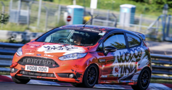 A Ford Fiesta ST laps the Nürburgring in 8:15