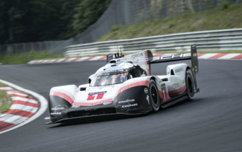 Lap record on the Nordschleife: In the fabulous time of 5: 19.546 minutes, the Porsche 919 Hybrid Evo with the German racing driver Timo Bernhard at the wheel on 29 June 2018