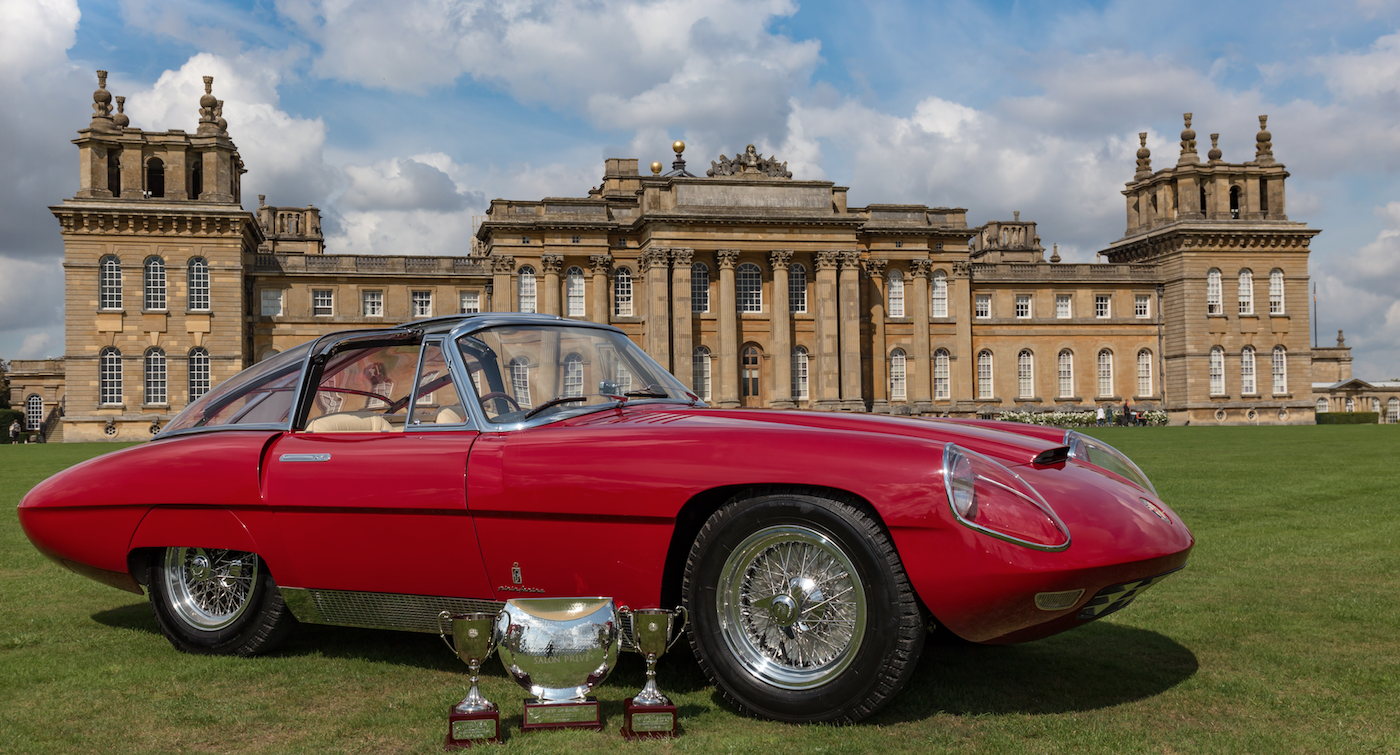 This 1960 Alfa Romeo 6C 3000 CM Pininfarina Superflow IV won the Best of Show Trophy at the UK's Salon Privé Concours d'Elégance