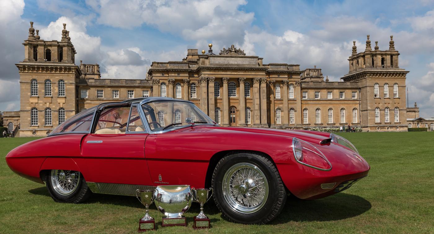 This 1960 Alfa Romeo 6C 3000 CM Pininfarina Superflow IV won the Best of Show Trophy at the UK's Salon Privé Concours d'Elégance