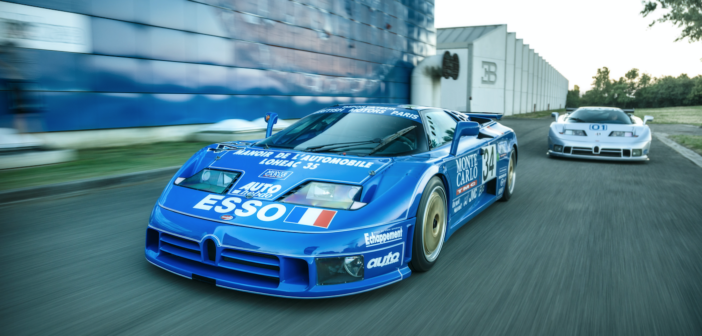 The surprising story of the two factory-built racing Bugatti EB110S