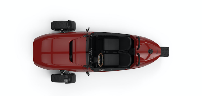 Remove a wheel, add to the fun: can you name this three-wheeled sports car?