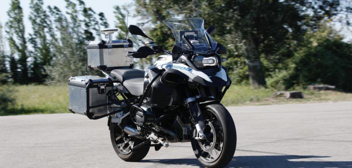 BMW's riderless motorcycle