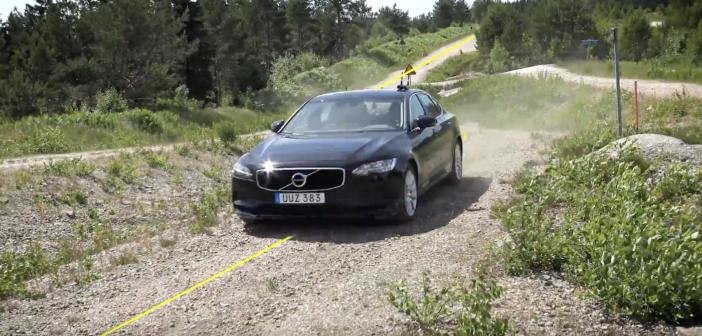 Volvo's Flex-0 test system in action