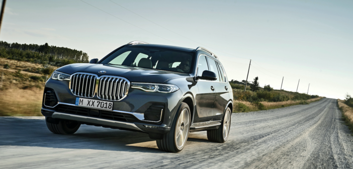 BMW's X7 on the road