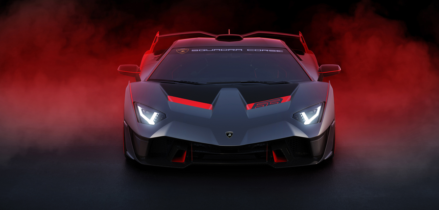 One Off Lamborghini Sc18 Created By Squadra Corse