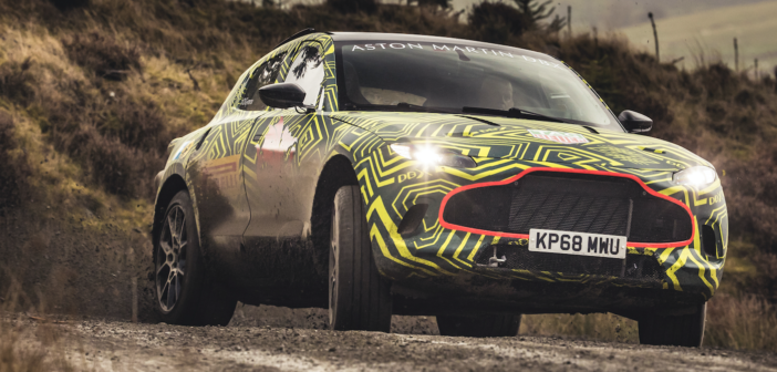 DBX testing requires a new dynamics envelope for Aston Martin