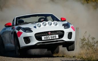 jaguar f type rally