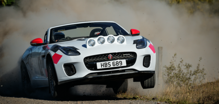 An F-Type rally car? Not as crazy as it looks