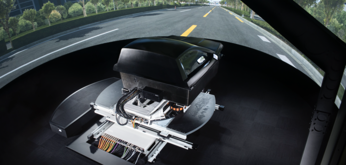 Simulator developed for safe ADAS dynamics testing