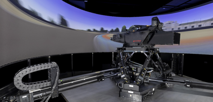 audi motorsport simulator