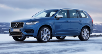 Which unusual feature can be found in the Volvo XC90's suspension design?