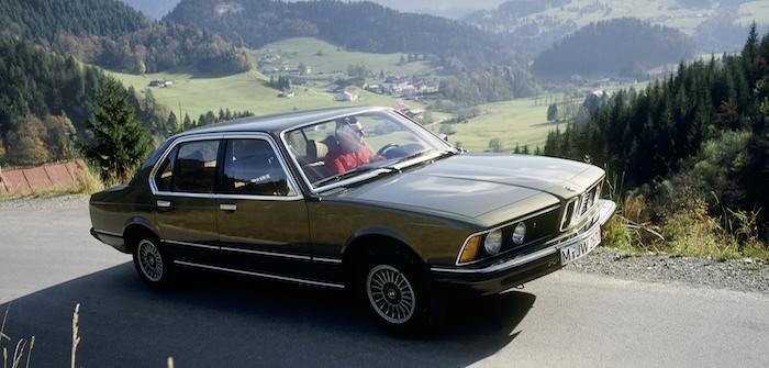 The innovative 1977 BMW 7 Series