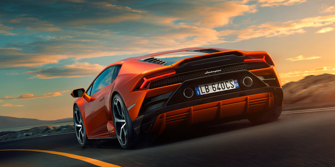 Lamborghini Develops Next Generation Vehicle Dynamic Control