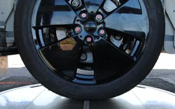 dynamic tire footprint