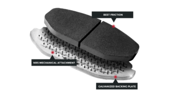 Nucap launches galvanized brake pads range