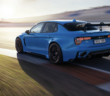 the lynk cyan on track
