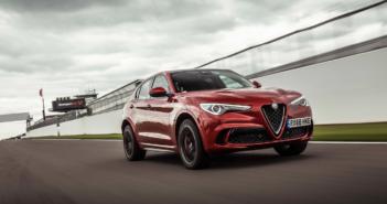The Alfa Romeo Stelvio Quadrifoglio's Donington Park record