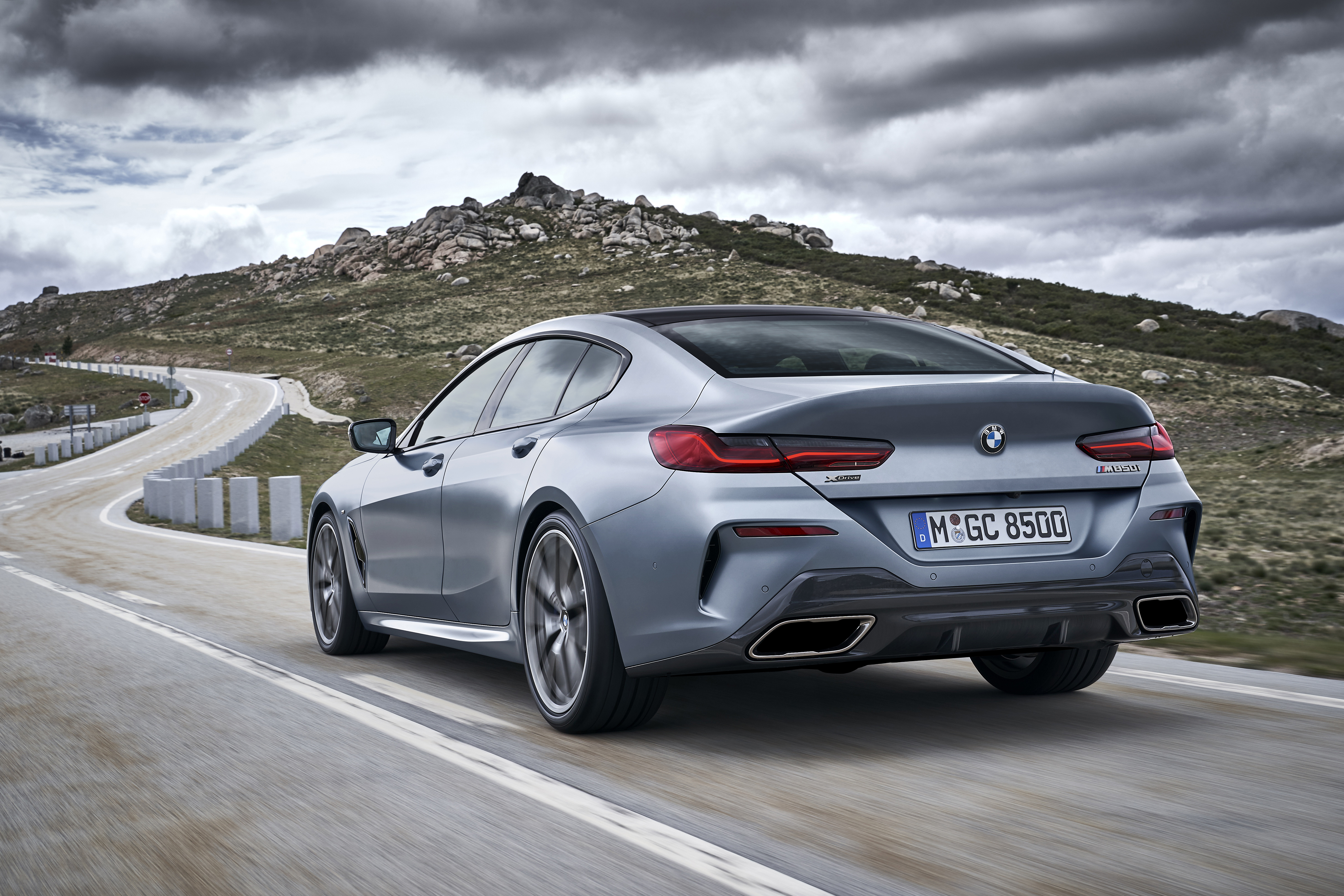Bmw 8 Series Gran Coupe The Dynamics In Detail Vehicle