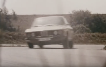 the bmw 3.0 csi on track