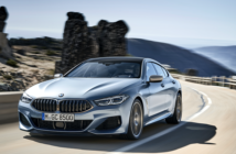 BMW 840i Gran Coupe on the road