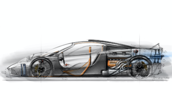 the Gordon Murray designed t.50 supercar