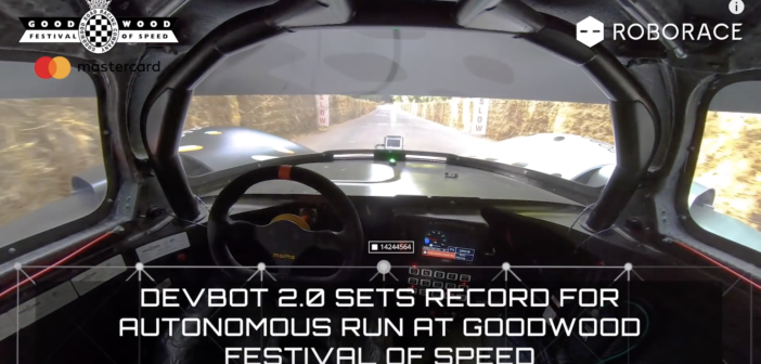 Roborace: look, no hands (or body)