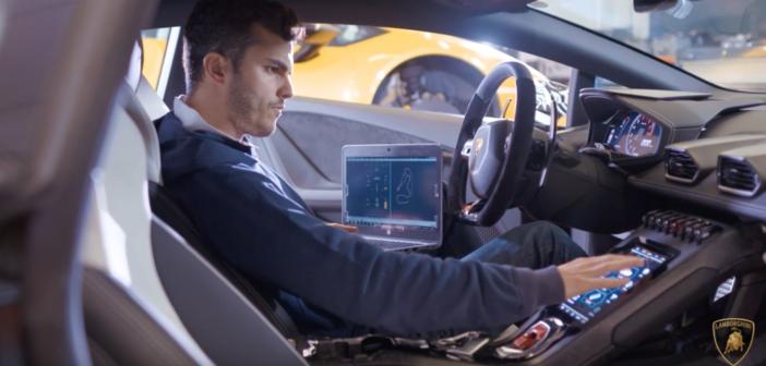 Lamborghini celebrates Dynamics Team of the Year award