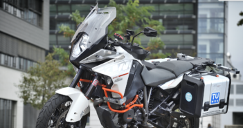 Motorcycle Probe Vehicle makes for safer riding
