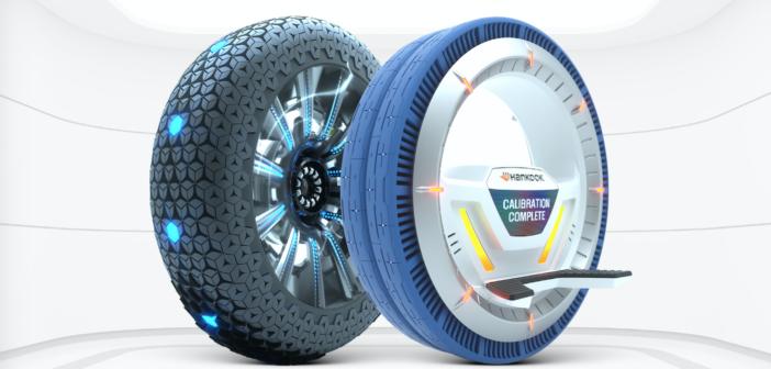 Acclaim for Hankook smart tyre designs
