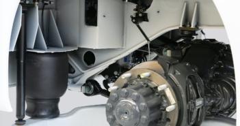 Conti's plastic air spring saves 15kg per bus