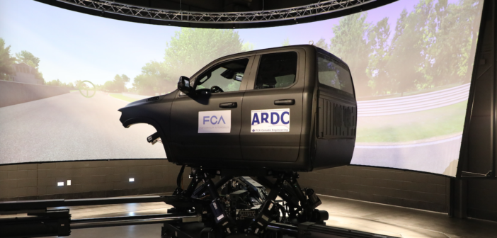FCA's new simulator has dynamicists floating on air
