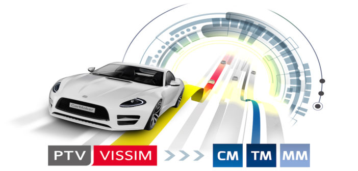 Traffic simulation interface added to CarMaker