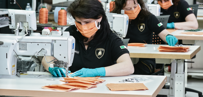 Lamborghini switches to medical manufacturing